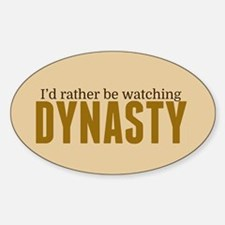 Dynasty TV Show Decal