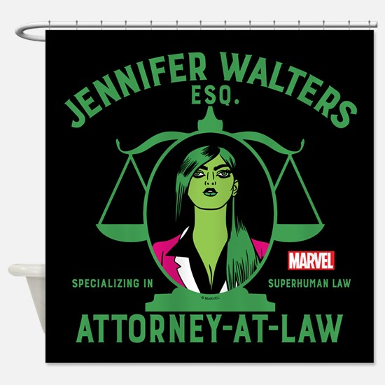She-Hulk Attorney-At-Law Shower Cur Shower Curtain