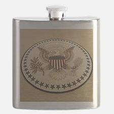 Cute Obama president Flask