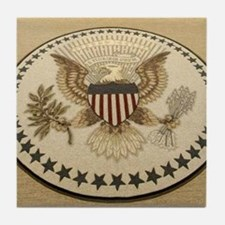 Cute President united states Tile Coaster