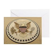 Cute 44th president barack obama Greeting Card
