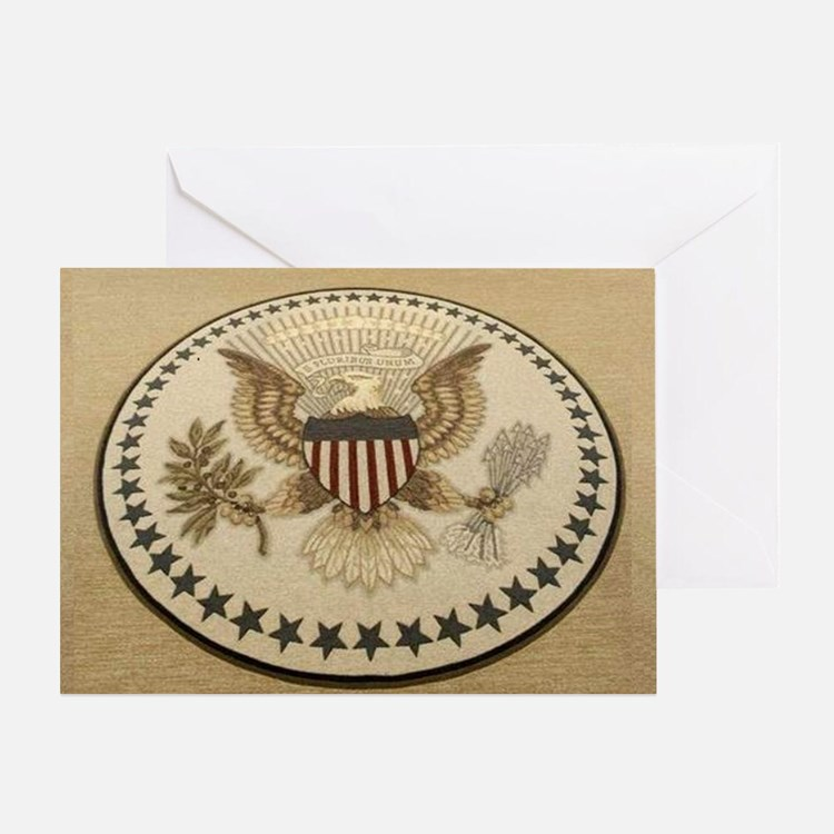 Cute Presidential seal Greeting Card
