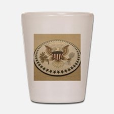 President obama Shot Glass