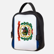 West Virginia Neoprene Lunch Bag