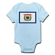 West Virginia State Flag Body Suit