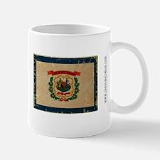 West Virginia State Flag VINTAGE Mugs