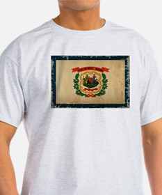 West Virginia State Flag VINTAGE T-Shirt