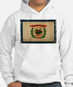 West Virginia State Flag VINTAGE Hoodie