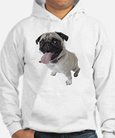 Pug Close Up Photo Hoodie