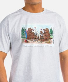 Cute Bear hunting T-Shirt