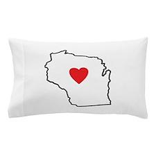 I Love West Virginia Pillow Case