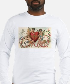 Vintage Valentine's Day Long Sleeve T-Shirt