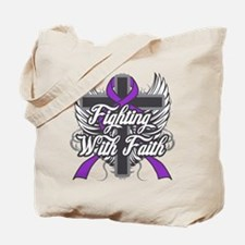 Fibromyalgia Faith Tote Bag