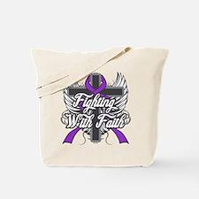 Epilepsy Faith Tote Bag