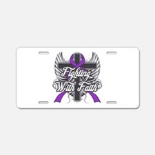 Epilepsy Faith Aluminum License Plate