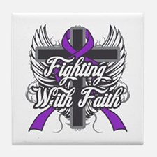 Epilepsy Faith Tile Coaster