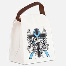 Graves Disease Faith Canvas Lunch Bag