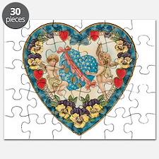 Vintage Valentine's Day Puzzle