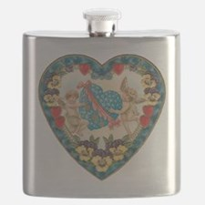 Vintage Valentine's Day Flask