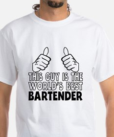This Guy Is The World's Best Bartender T-Shirt