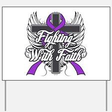 Domestic Violence Faith Yard Sign