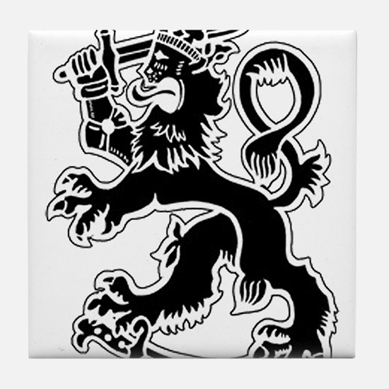 SuomiLeijona.png Tile Coaster