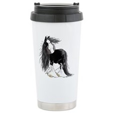 Cute Shire horse Travel Mug