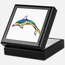 Unique Dolphin Keepsake Box