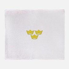tre-kronor.png Throw Blanket
