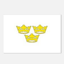 tre-kronor.png Postcards (Package of 8)