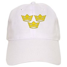 tre-kronor.png Baseball Cap