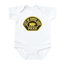 South Gate Police Infant Bodysuit
