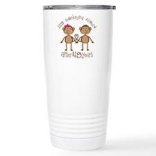 Funny Love monkey Travel Mug