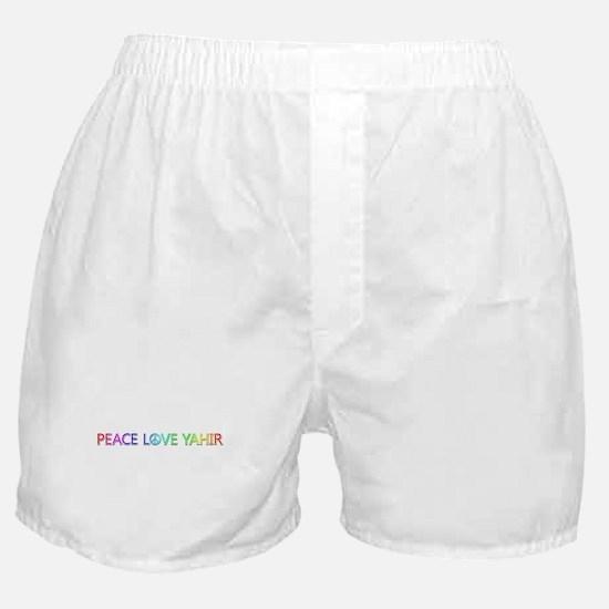 Peace Love Yahir Boxer Shorts