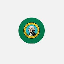 Washington State Flag Mini Button