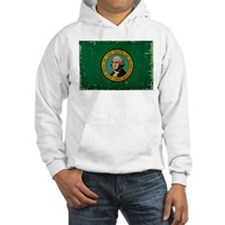 Washington State Flag VINTAGE Hoodie