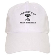 Property of a Fish Farm Manager Baseball Cap