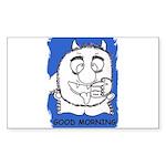 GOOD MORNING Rectangle Sticker