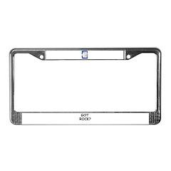 GOOD MORNING License Plate Frame