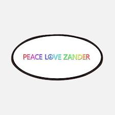 Peace Love Zander Patch