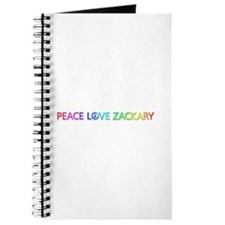 Peace Love Zackary Journal