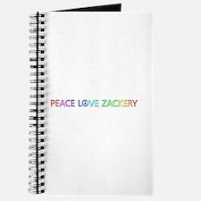 Peace Love Zackery Journal