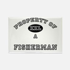 Property of a Fisherman Rectangle Magnet