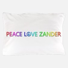 Peace Love Zander Pillow Case