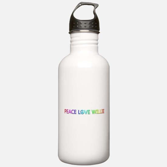 Peace Love Willie Water Bottle