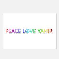 Peace Love Yahir Postcards 8 Pack