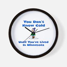 Funny Mn Wall Clock