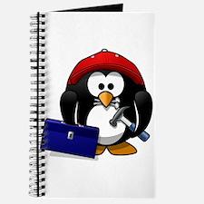 Cute Purple penguin Journal