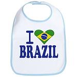 I love Brazil Bib