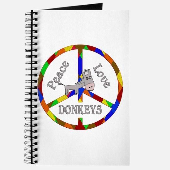 Peace Love Donkeys Journal